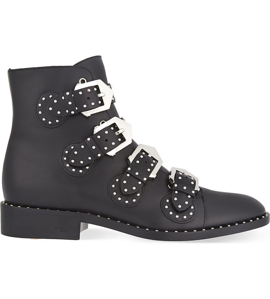 The Changing Of The Seasons - Givenchy ankle boots