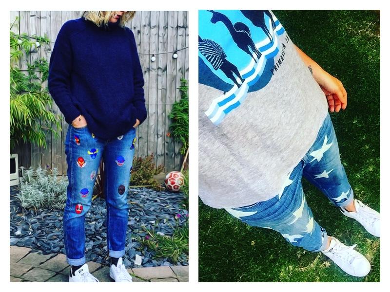 printed-jean