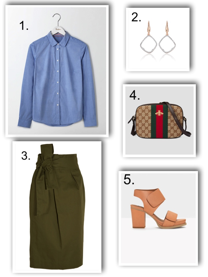 Smart work clothes - the skirt