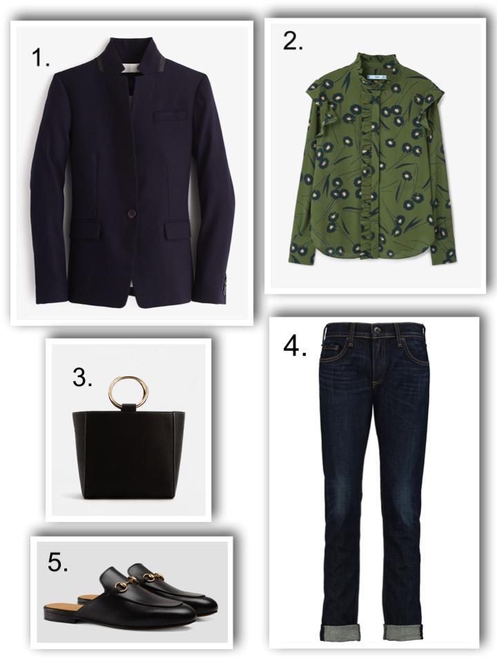 Smart clothes - the blazer