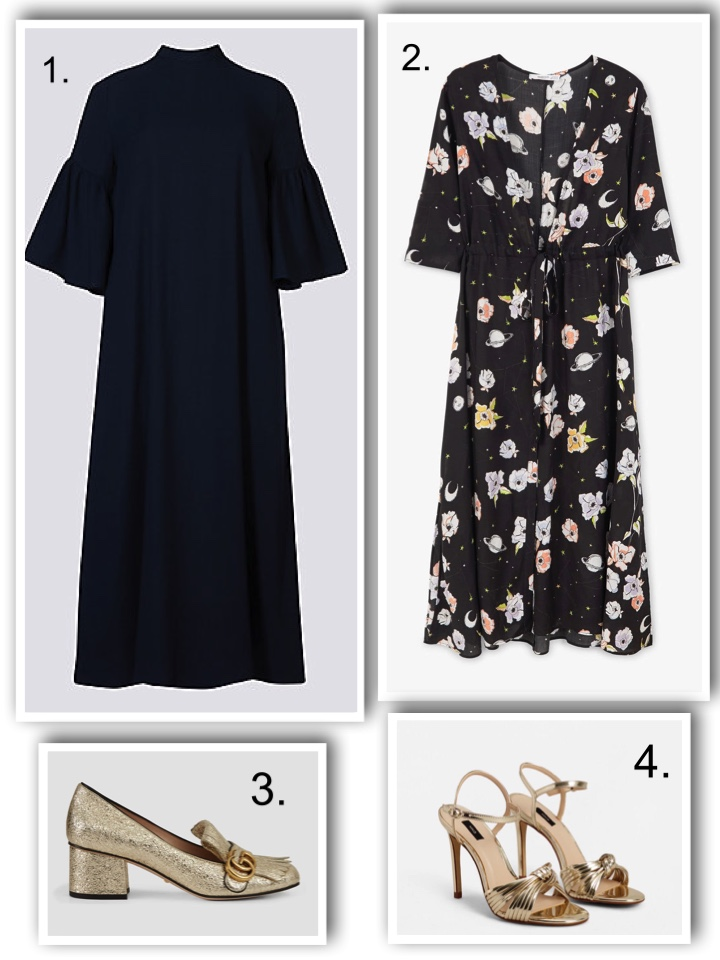 midi dress for wedding guests