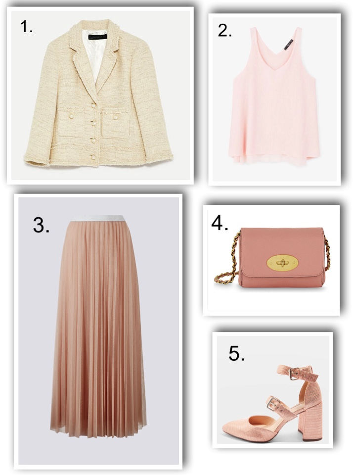 skirt and separates for wedding guest