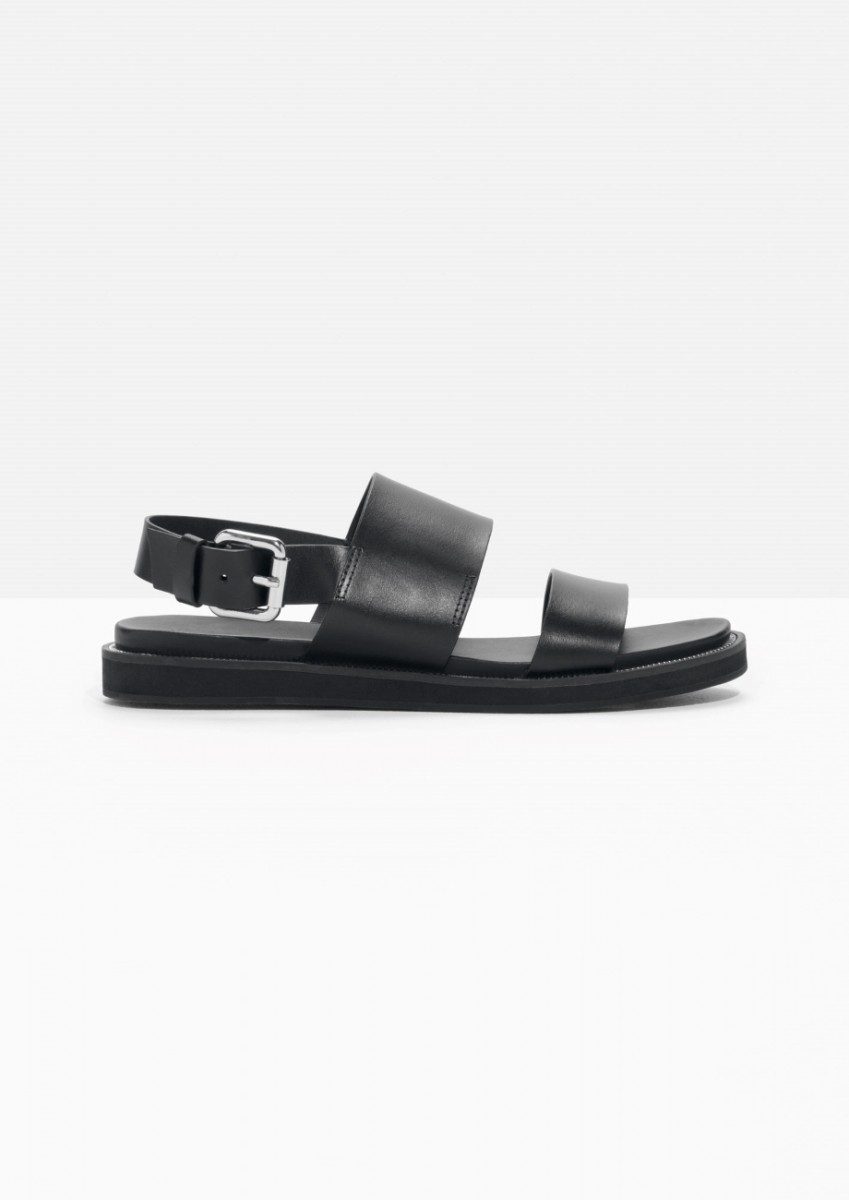 & Other Stories Black Sandals bought this week