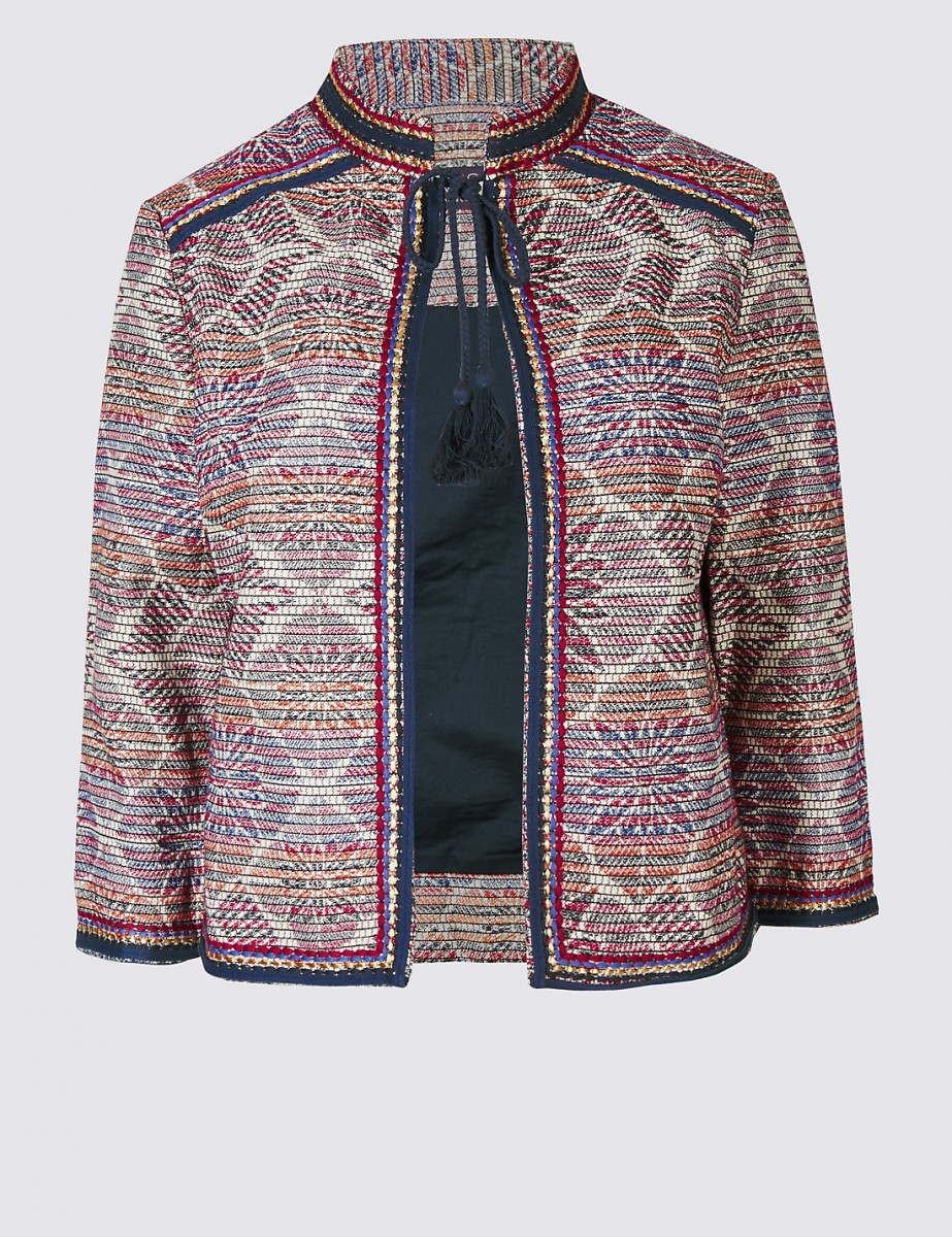 Marks and Spencer Embroidered Jacket