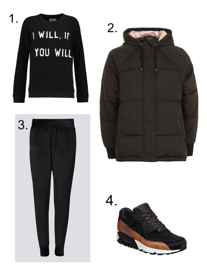 Sunday Roadman style puffer jacket
