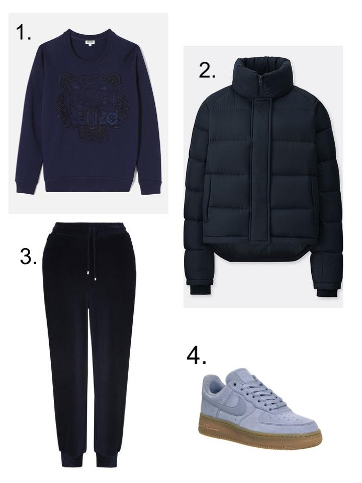 Sunday JW anderson Uniqlo puffer jacket