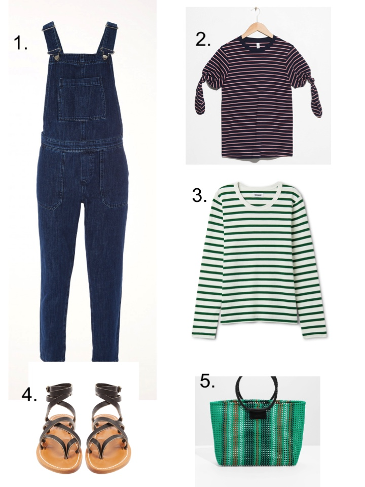 dungarees sandals