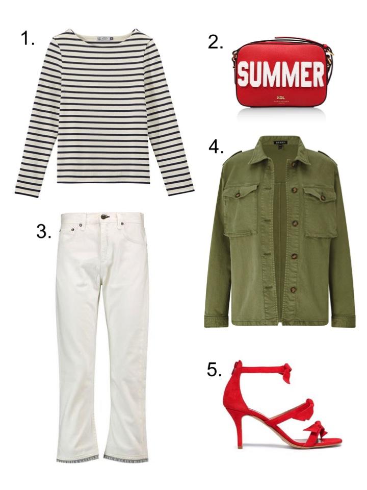 wearsmymoney white jeans khaki shacket