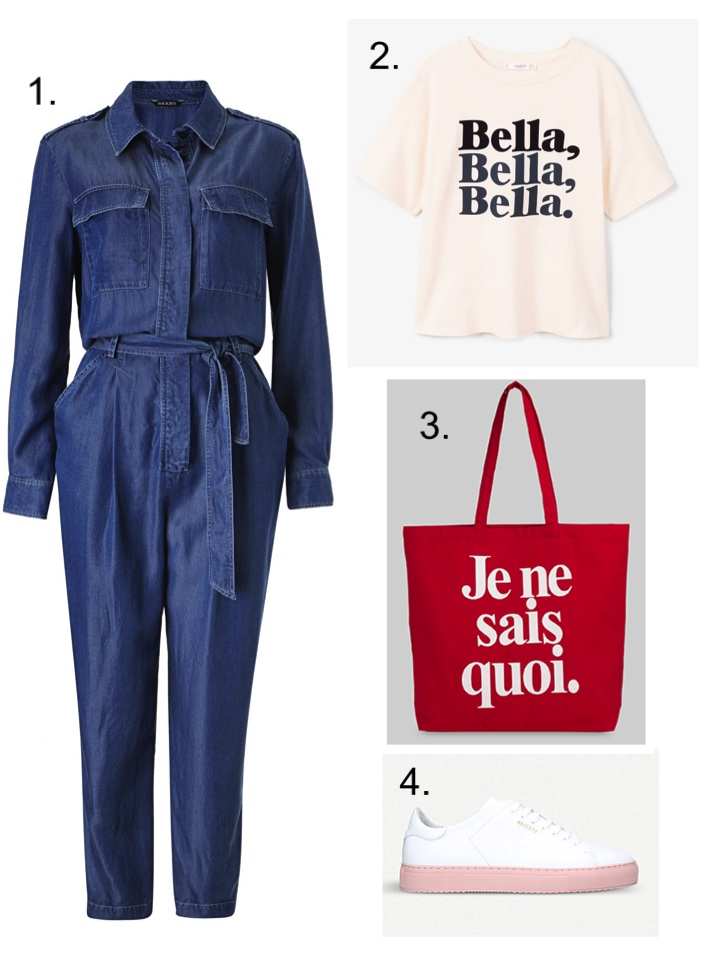 Baukjen Denim Jumpsuit