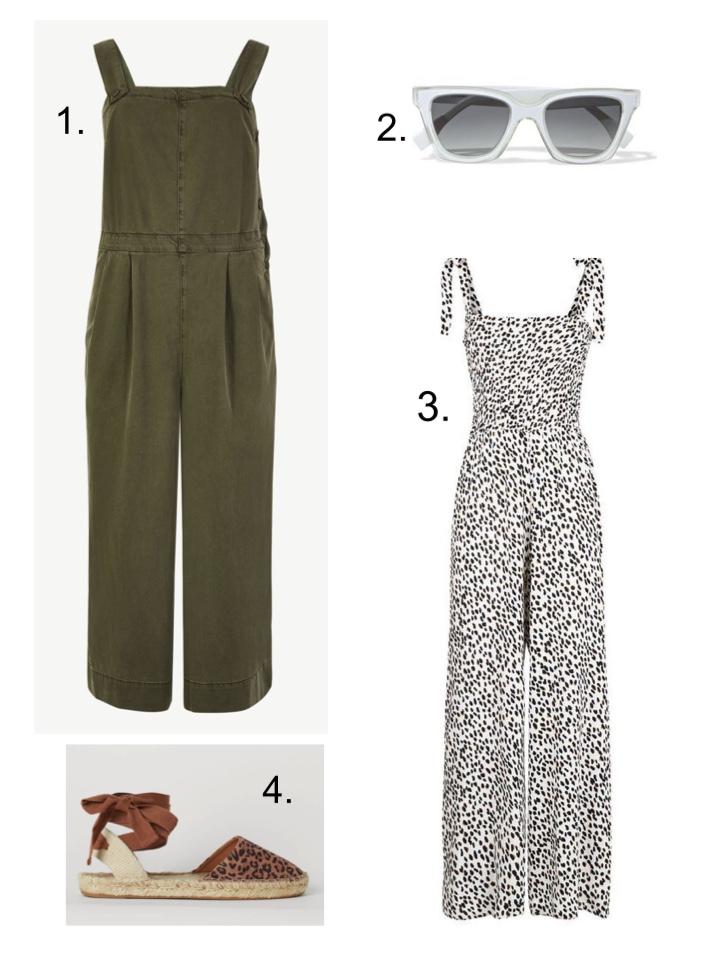 sleeveless jumpsuit M&S Khaki