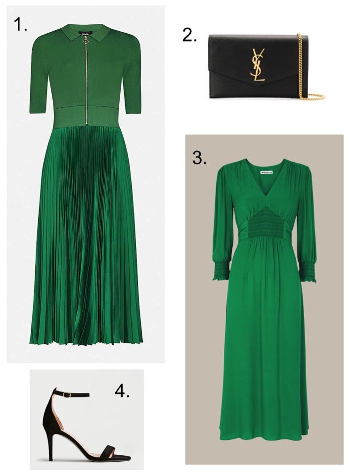 green dress smart