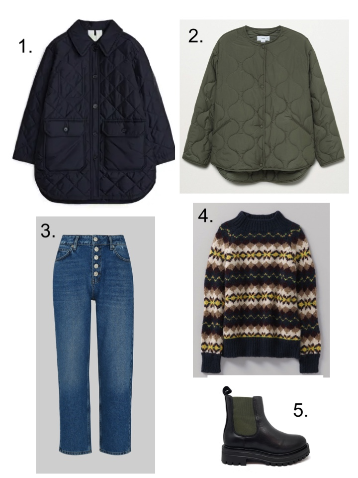 layers quilted jackets