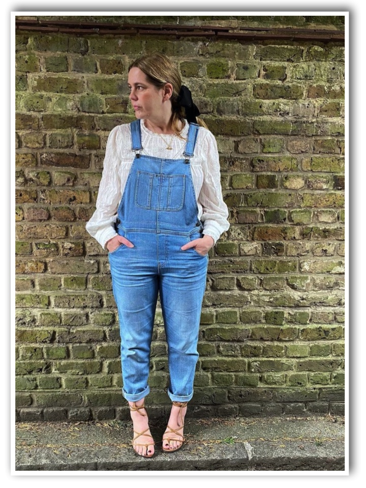 Sarah Little Spree in Dungarees