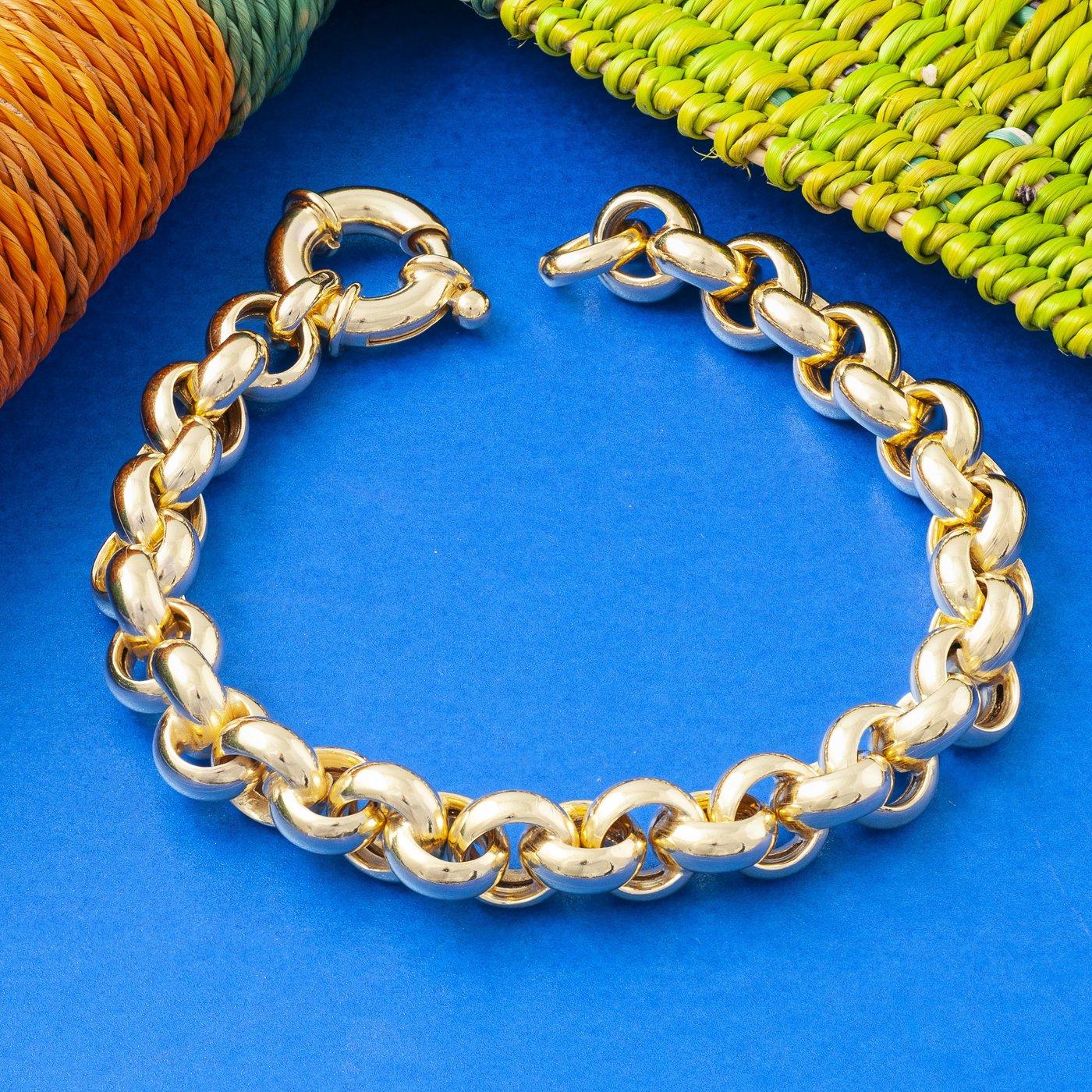 Loel Chunky Gold Bracelet