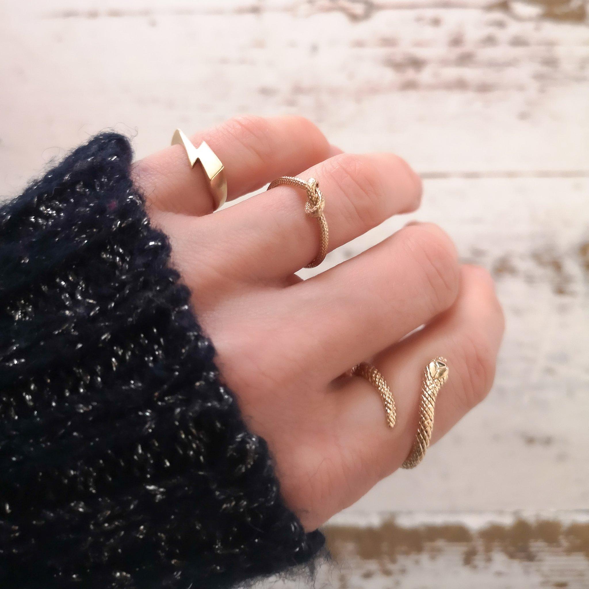 Louise wade gold rings