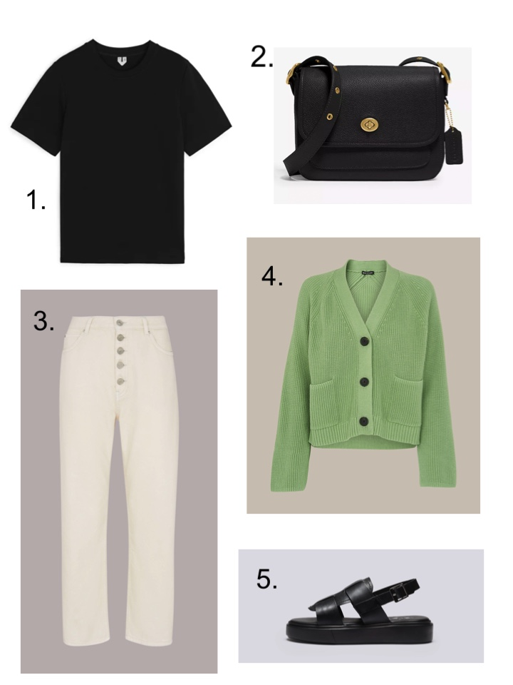 six spring outfit ideas for May